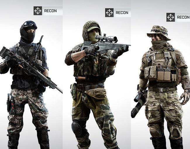 Mw2 Ghost Wallpaper Hd Bf4 Classe Sniper Recon Armes Millenium