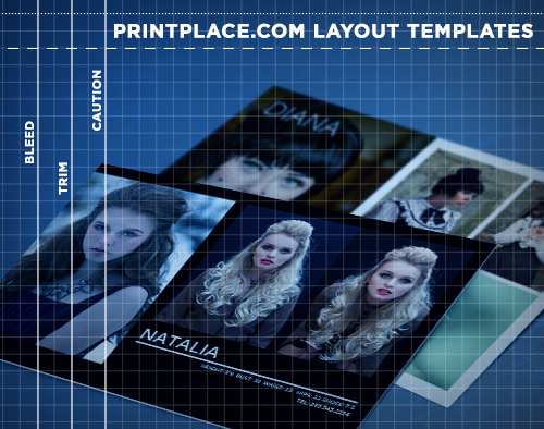 Comp Cards Templates Free Download PrintPlace