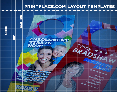 Door Hangers Templates Free Download PrintPlace