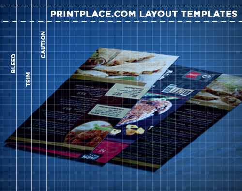 Menus Templates Free Download PrintPlace