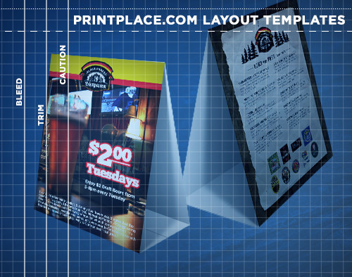 Table Tents Templates Free Download PrintPlace - restaurant table layout templates