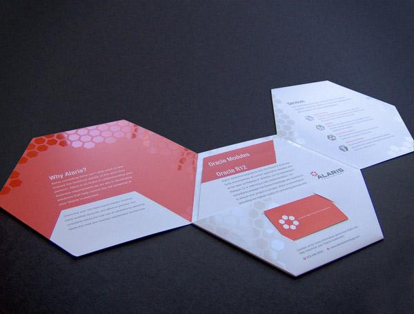 Evolution of Brochure Design - modern brochure design