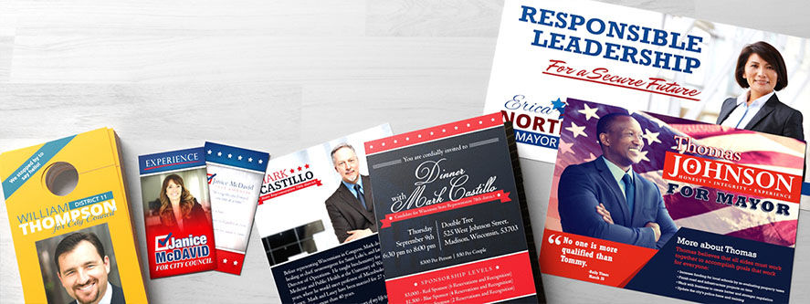 Political Campaign Printing  Direct Mail PrintPlace - political brochure