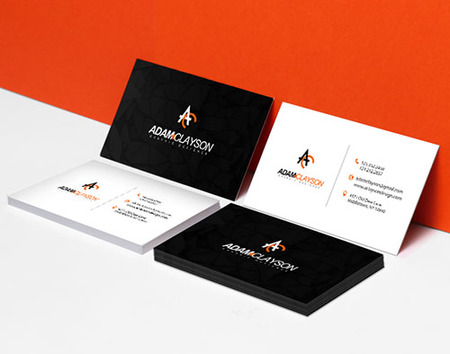 Standard Business Card Printing - Thick High Quality Cards PrintPlace