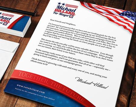 Political Letterhead - Customized campaign logos PrintPlace