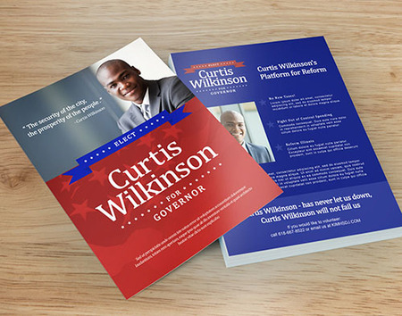 Political Flyers - Fast Print Turnaround PrintPlace