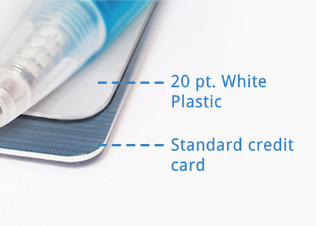 Plastic Business Card Printing - Rectangle, Square or Oval PrintPlace