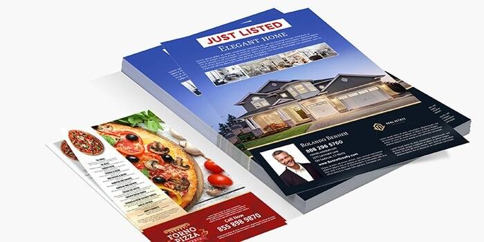 Business Flyer Printing - Promotional Flyers PrintRunner