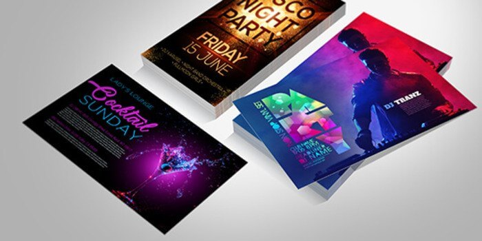 Custom Club Flyer Printing for Parties  Events PrintRunner