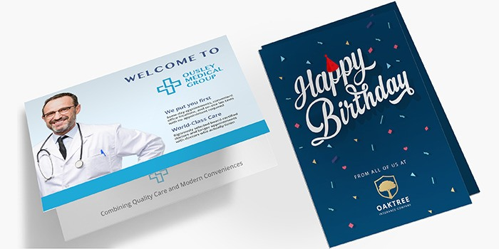 Affordable Greeting Cards Printing PrintRunner