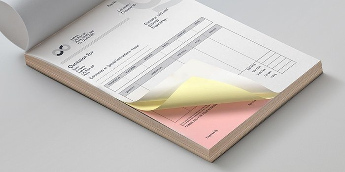 Custom Carbonless Forms  Business Forms PrintRunner - custom business invoices