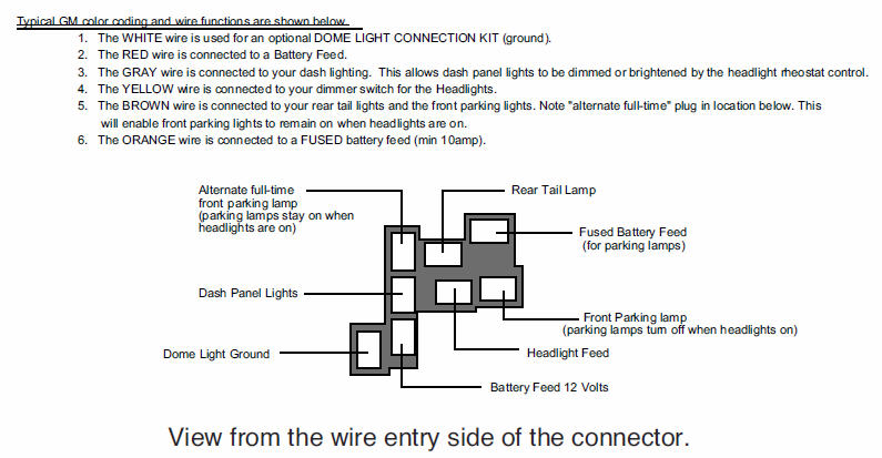 Gmc Dimmer Switch Wiring Diagram Electronic Schematics collections