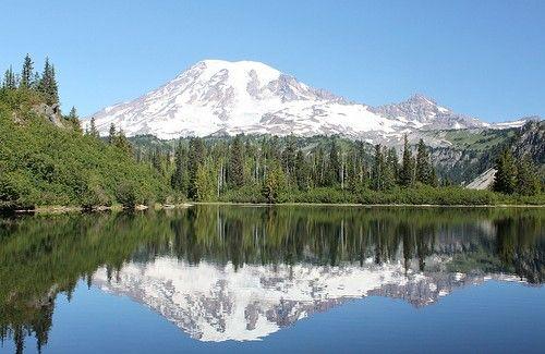 Spring Iphone 6 Wallpaper Parque Nacional Do Monte Rainier Washington 201 O Lar De