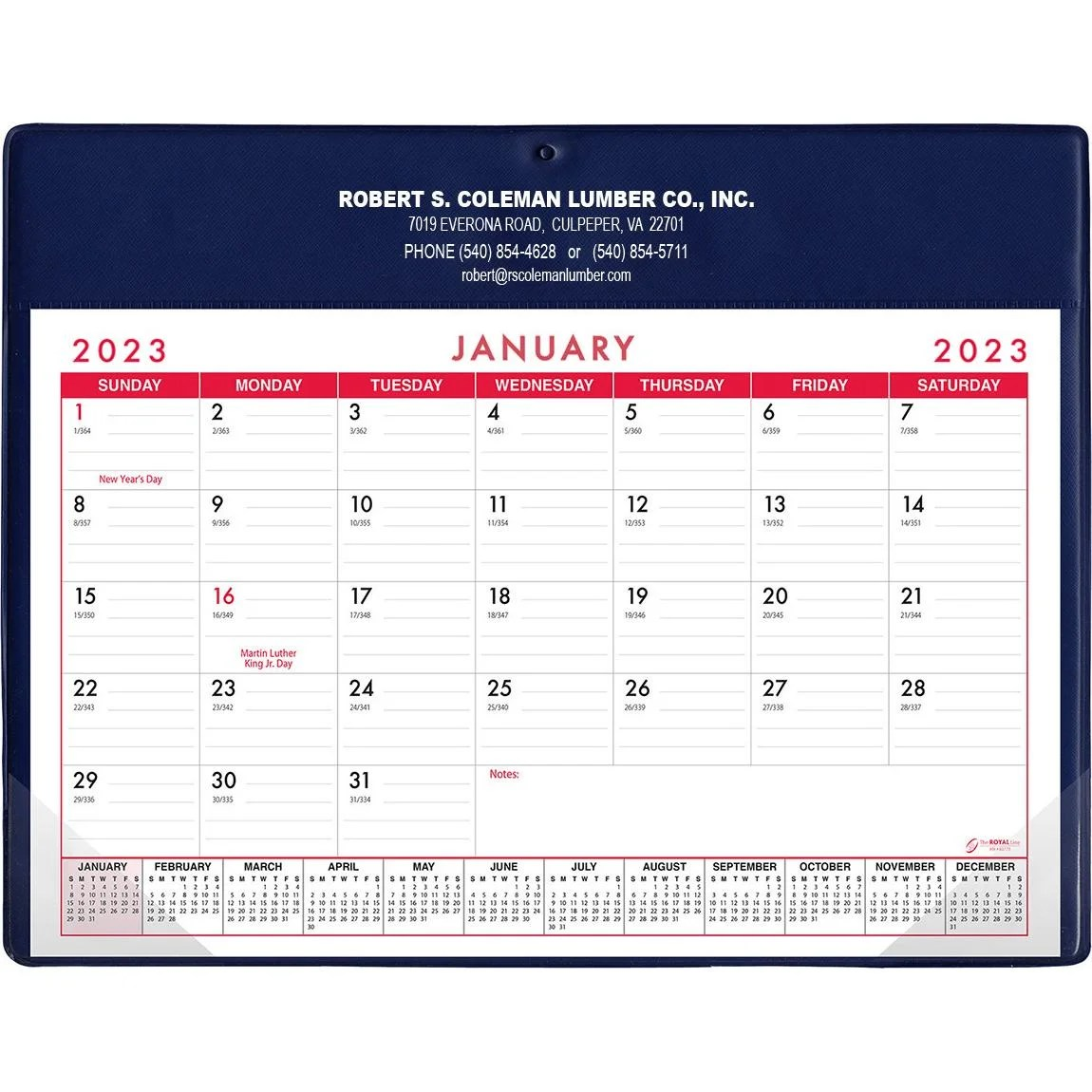 Custom Day Planners Quality Logo Products, Inc - calendar daily planner