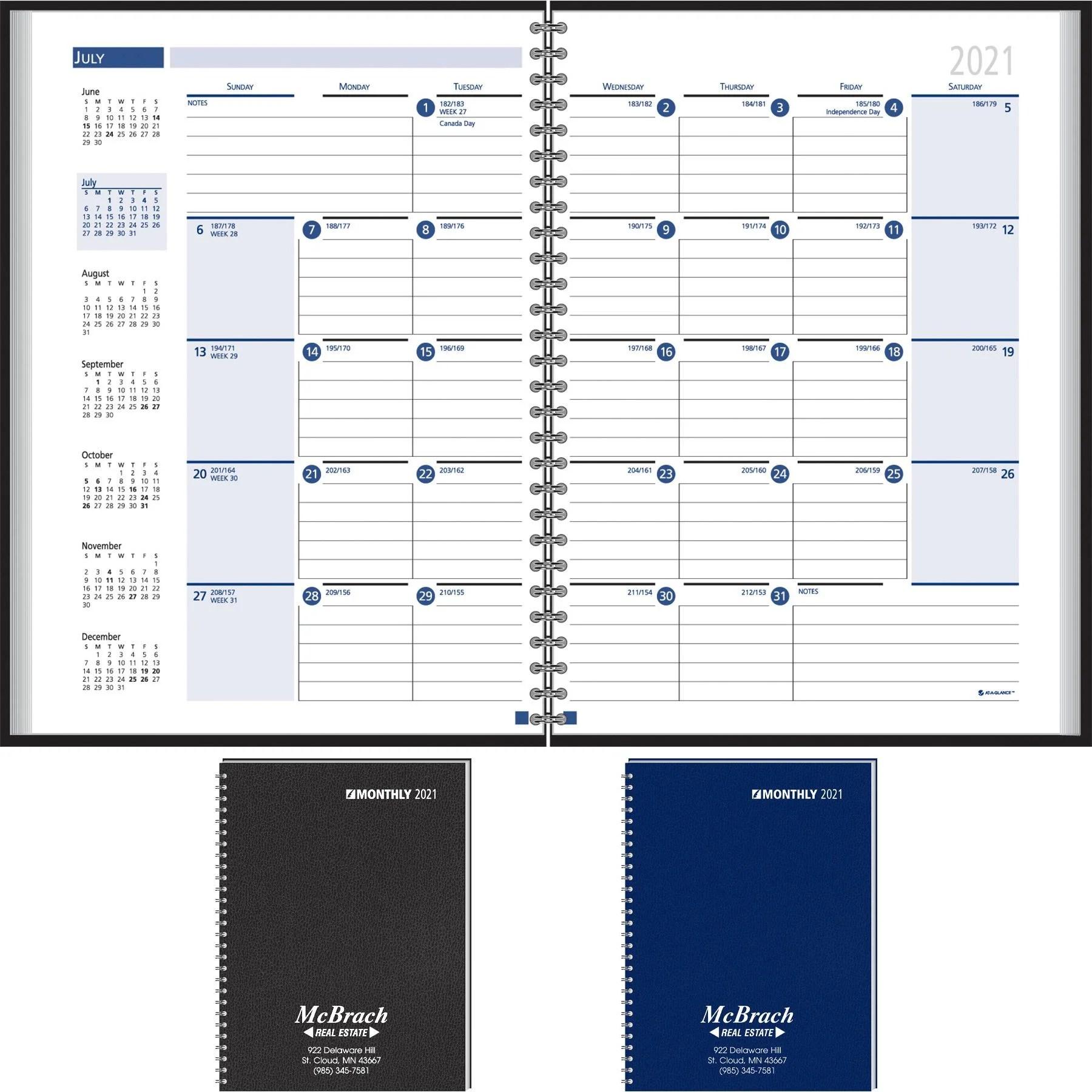 Custom Desk Planners Quality Logo Products, Inc