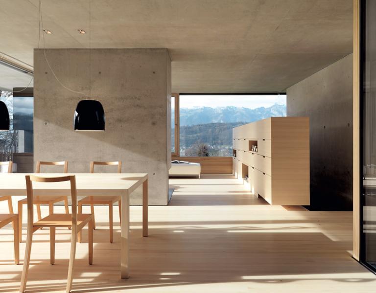 Wohnzimmer Leuchten Esstisch