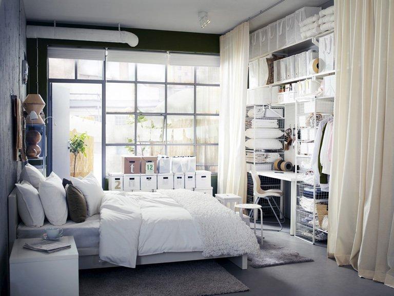 Mit Ikea kleine Wohnungen einrichten Kleine Küche mit Kochinsel - kleine zimmer schon einrichten