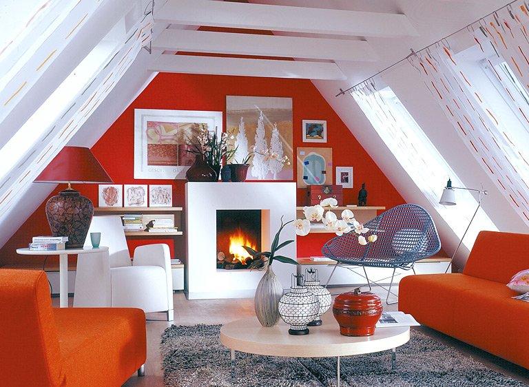 Die Dachschräge - Möbel und Farbe für schräge Dächer - SCHÖNER - dekoration farbe fur dachschragen
