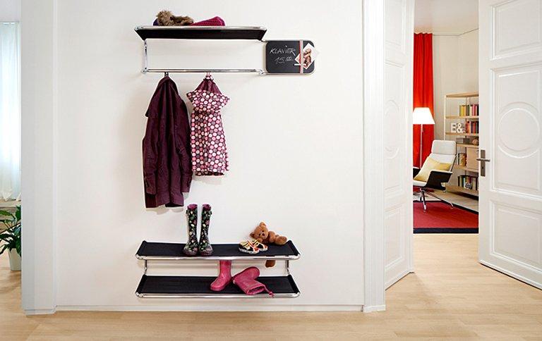 Garderobe Lösungen für jede Situation - SCHÖNER WOHNEN - garderoben ideen
