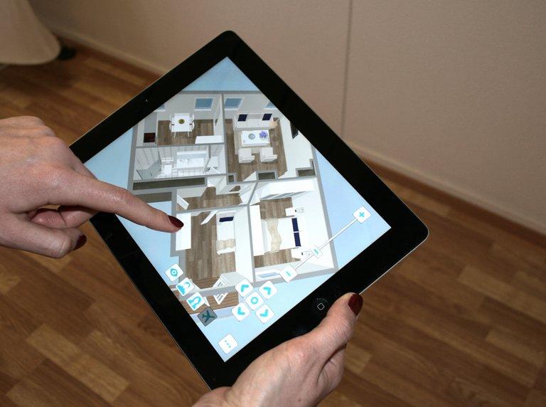 Raumplanung u2013 so gelingt die Inneneinrichtung - SCHÖNER WOHNEN - badezimmer planen app