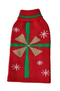 Christmas Present Pet Sweater