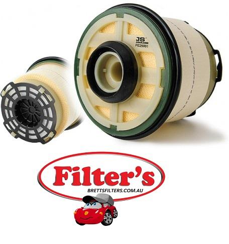 FE25001 FUEL FILTER Ford PX Ranger Diesel Fuel Filter Cartridge 22