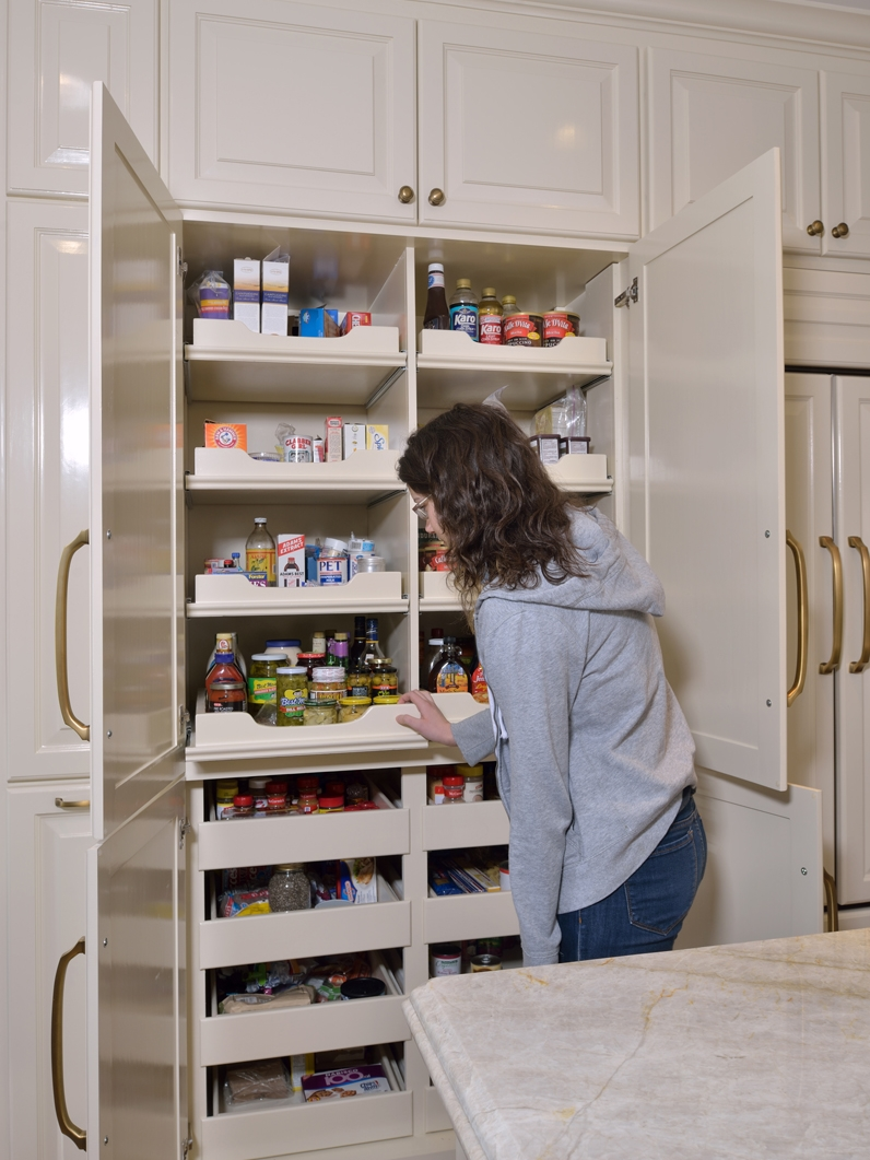 Closet Pantry The Best Kitchen Space Creator Isn T A Walk In Pantry It S This