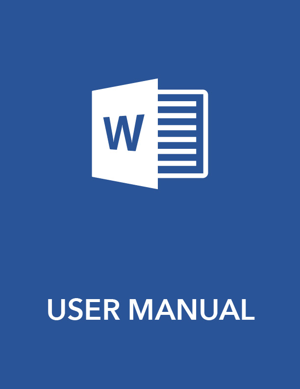 ms word user manual - 28 images - instruction manual template - sample user manual template