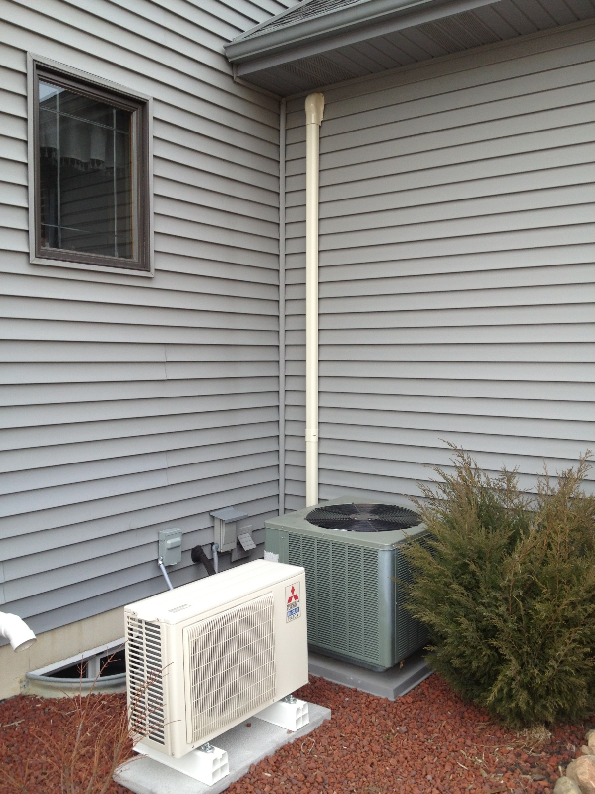 Garage Attic Air Conditioner Putting The
