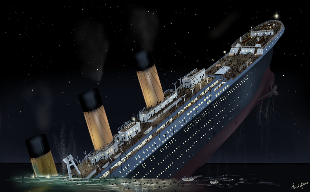 The Sinking Of Titanic Ultimate Titanic