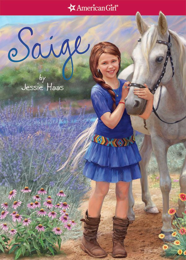 Girl Riding Horse Wallpaper American Girl Sarah Davis