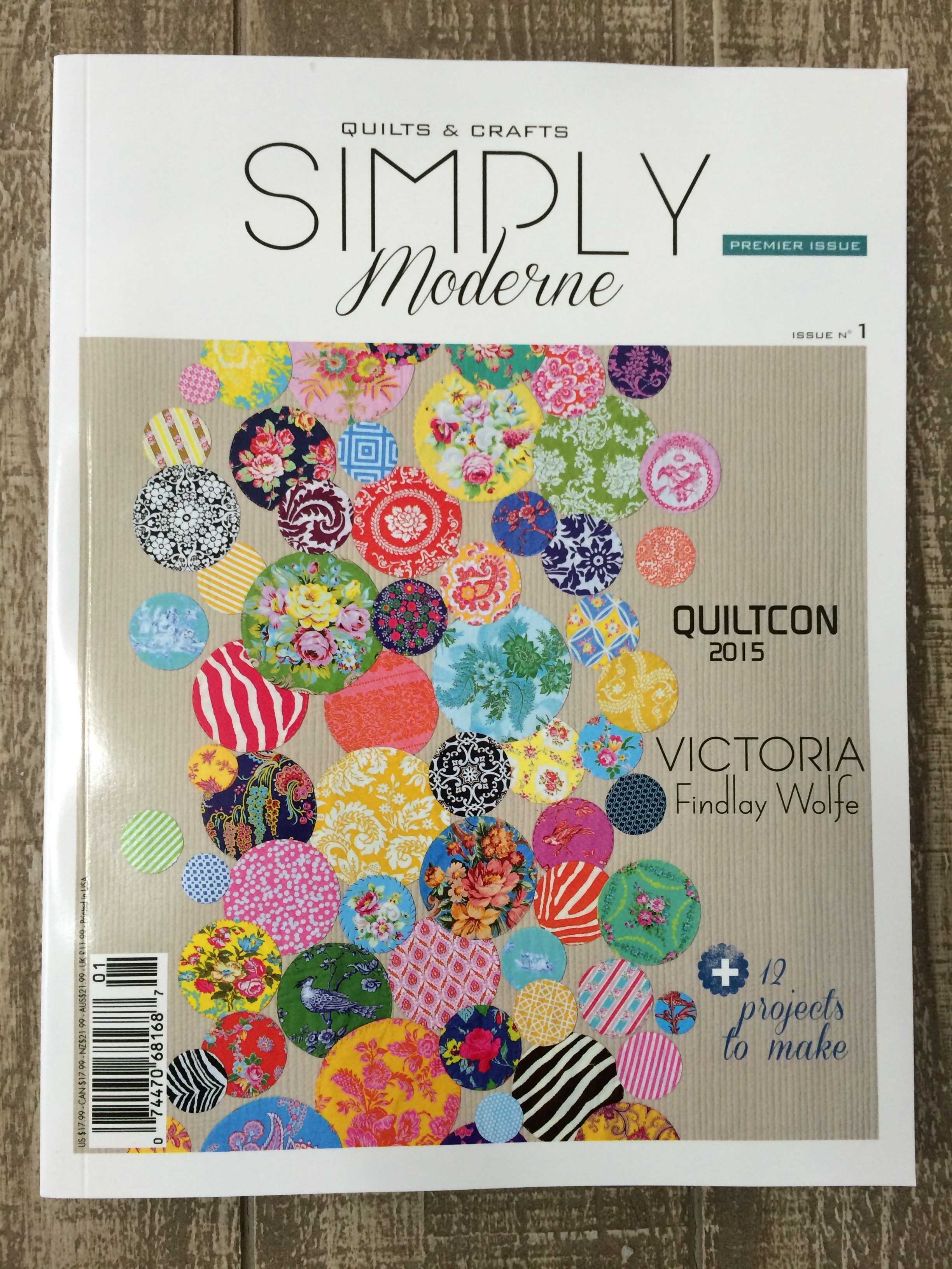 Moderne Quilts Simply Moderne Simply Vintage Magazines Hettie S Patch