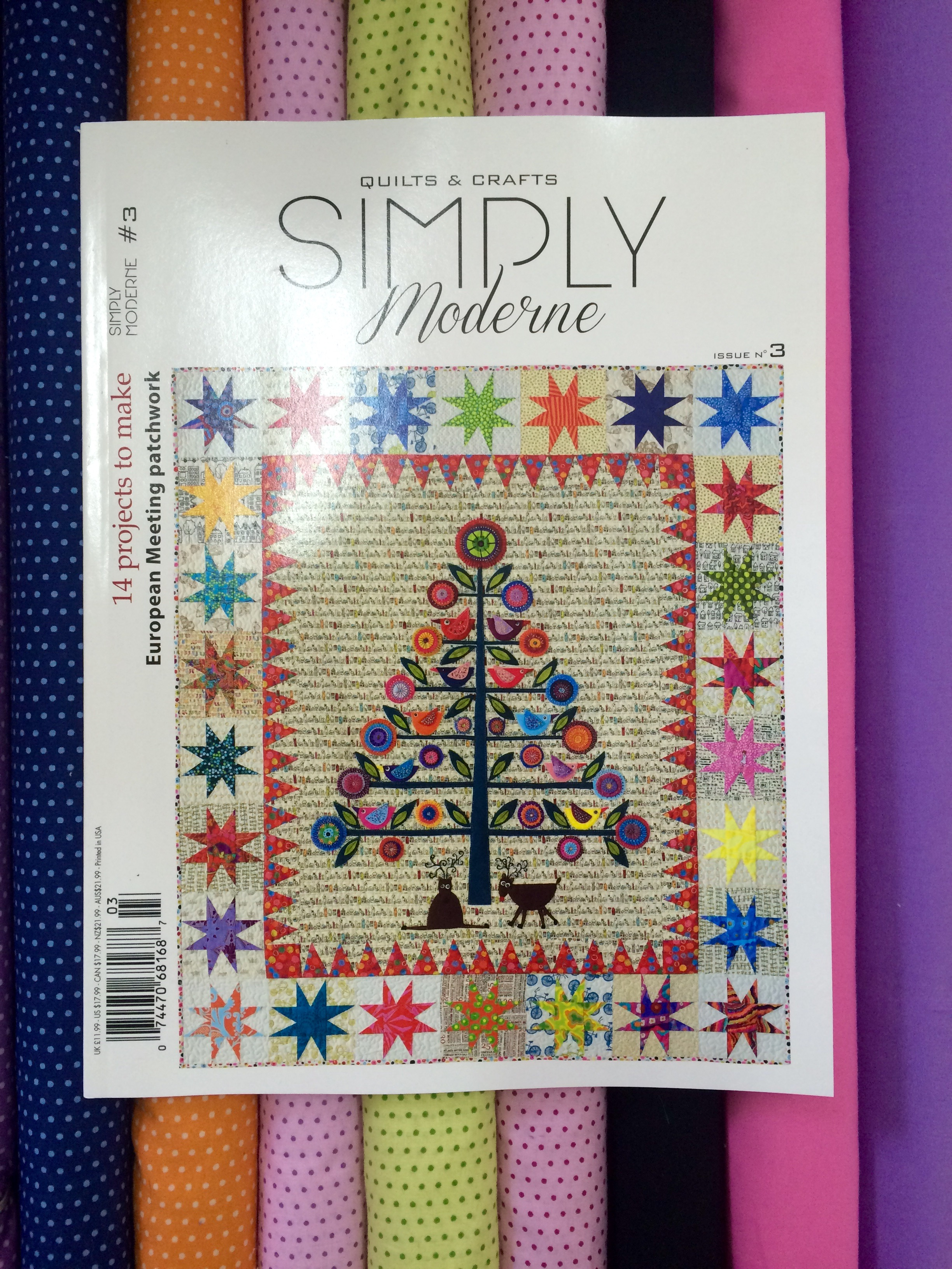 Moderne Quilts Simply Moderne Issue 3 Hettie S Patch