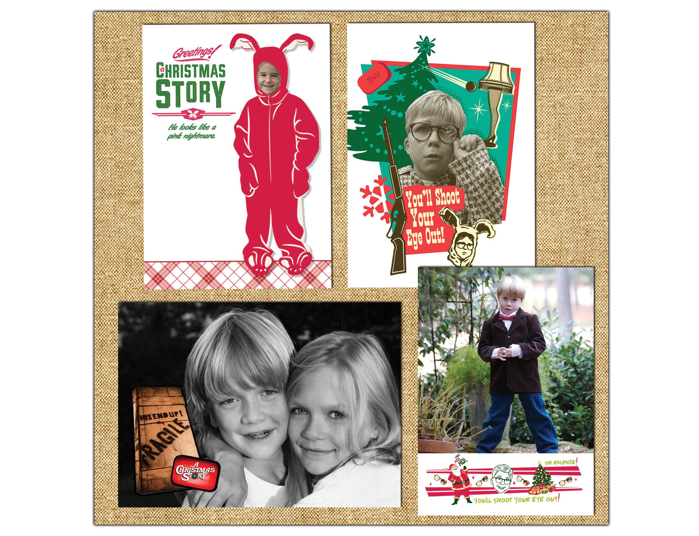 WARNER BROS HOLIDAY CARDS - A CHRISTMAS STORY \u2014 Beth Schneider