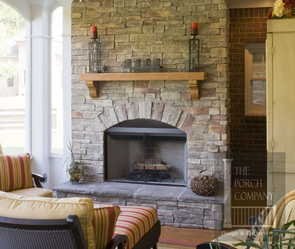 Brick Fireplace Makeover Kitchener Blackwell Masonry Ltd
