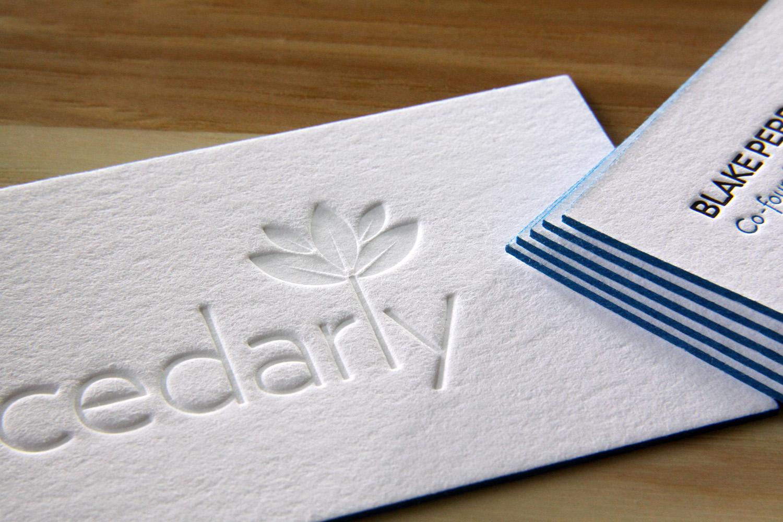 A Handful of New Letterpress Business Cards \u2014 the Parklife Blog - letterpress business card