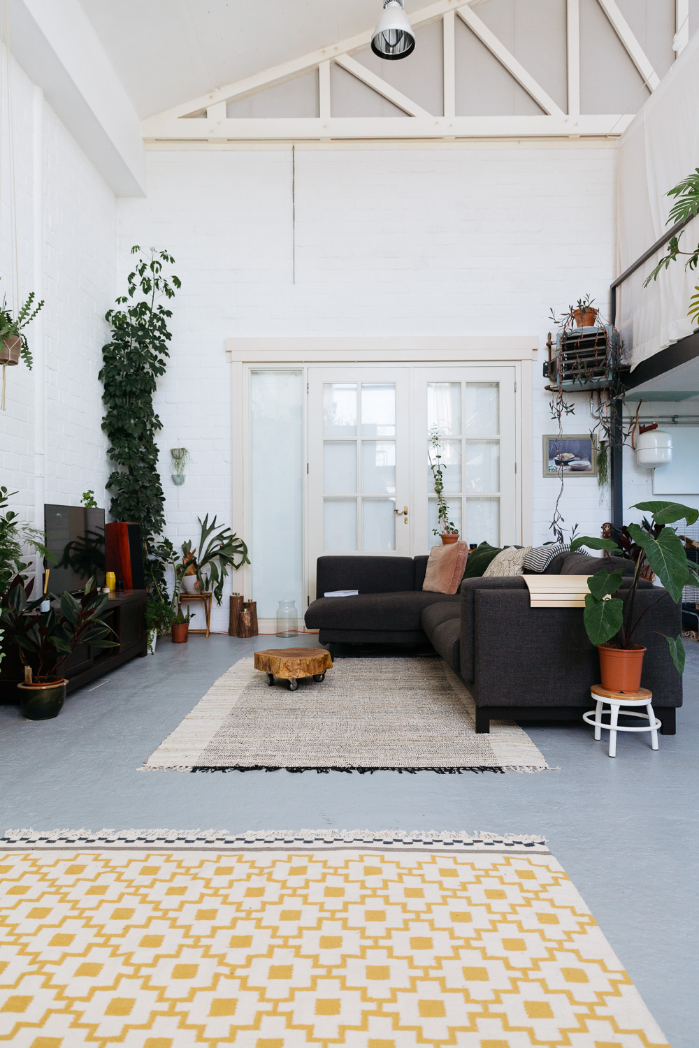 Amsterdam Interior Interior Green Loft Studio Hear Hear Editorial On A Hazy Morning