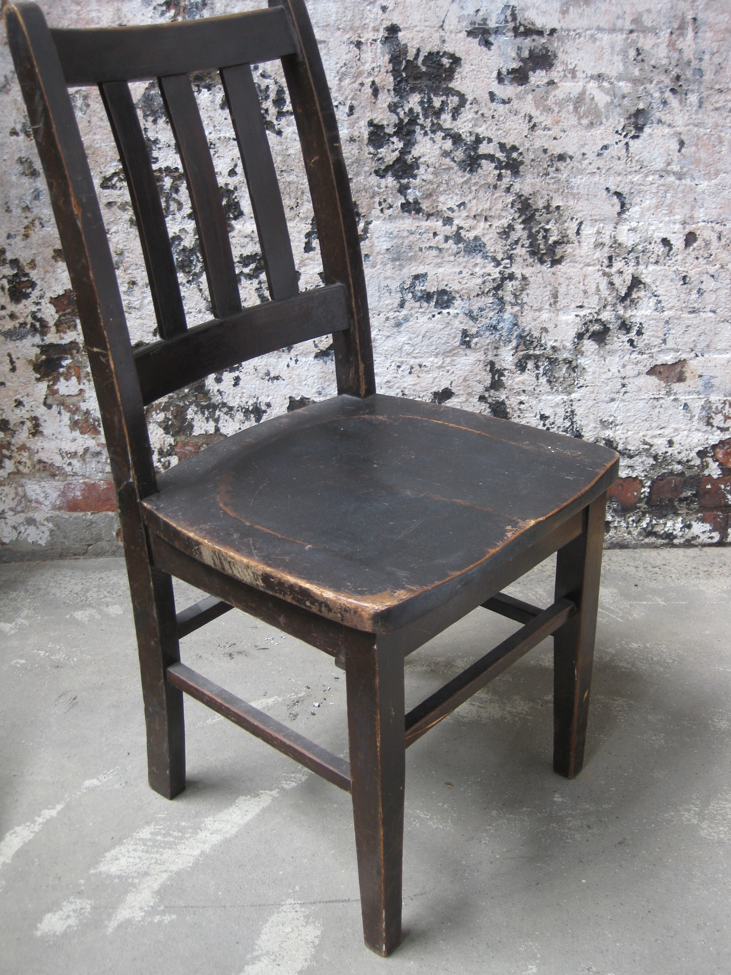 Old wood chair 48
