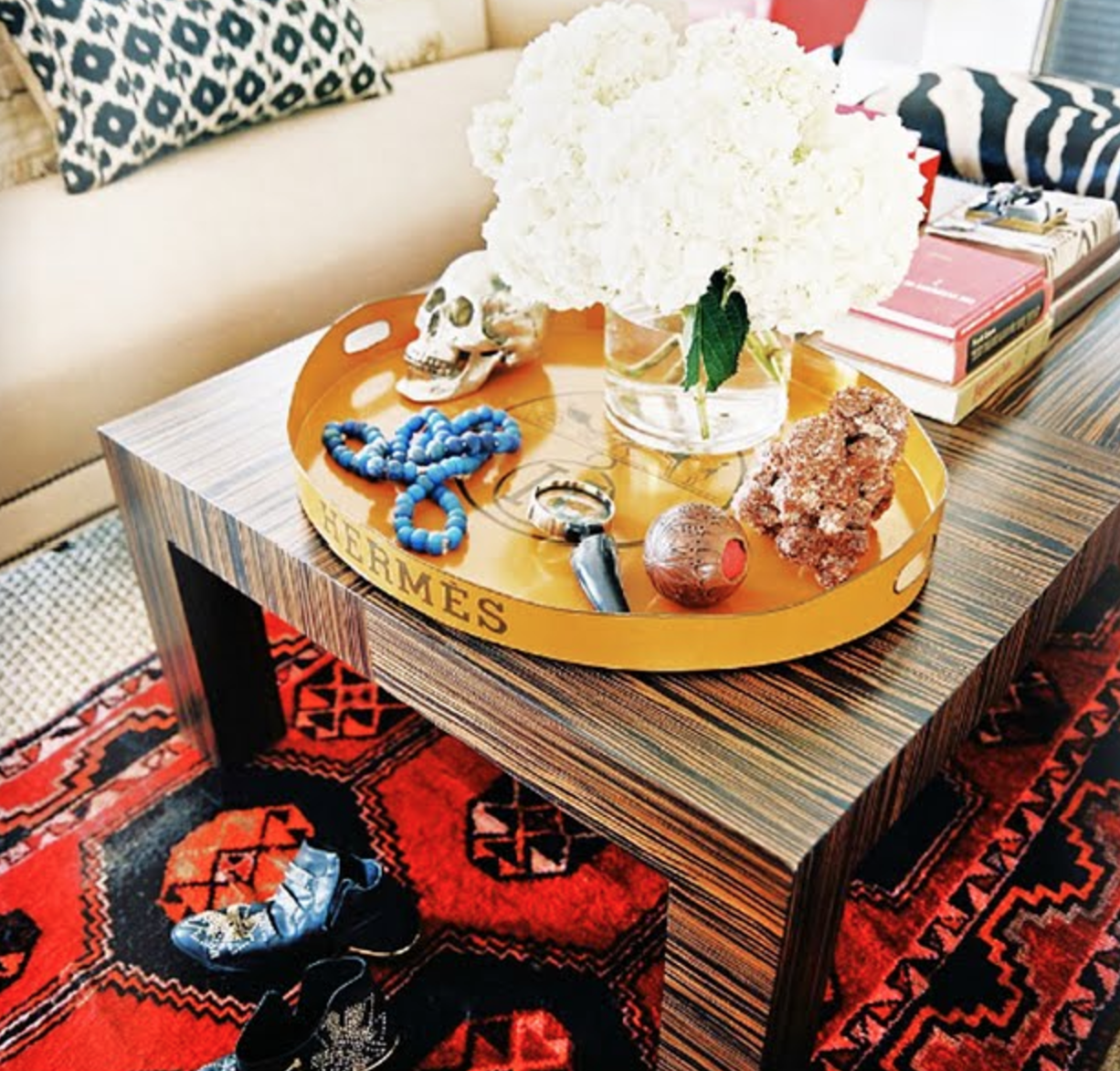 Olivia Palermo Apartment Decor Hermes Tray Real Or Replica Maurenice Bisono