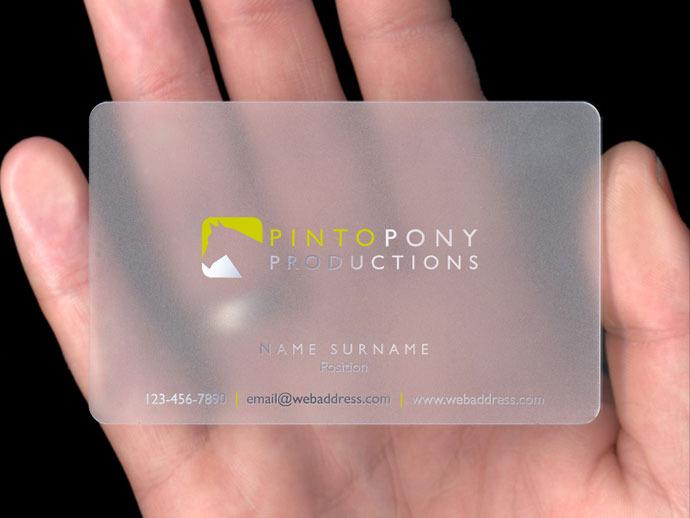 Plastic Business Cards \u2014 PlasmaDesign