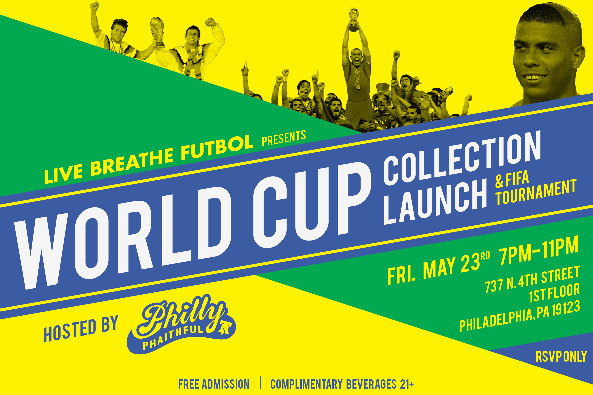 Futbol Live Philly Phaithful Celebrates World Cup With Collection Launch