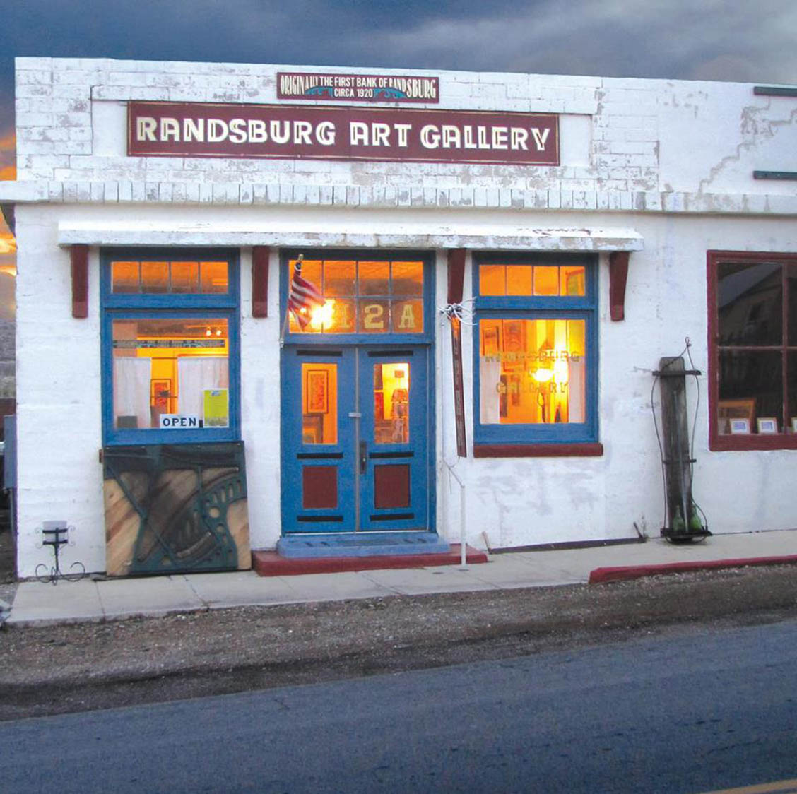 Exterior, Randsburg Art Gallery