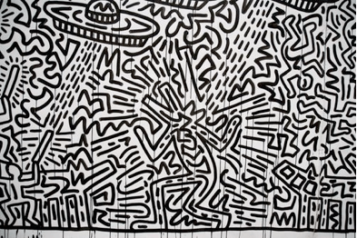 Klimt Wallpaper Iphone Keith Haring And His Performance Art Tiff