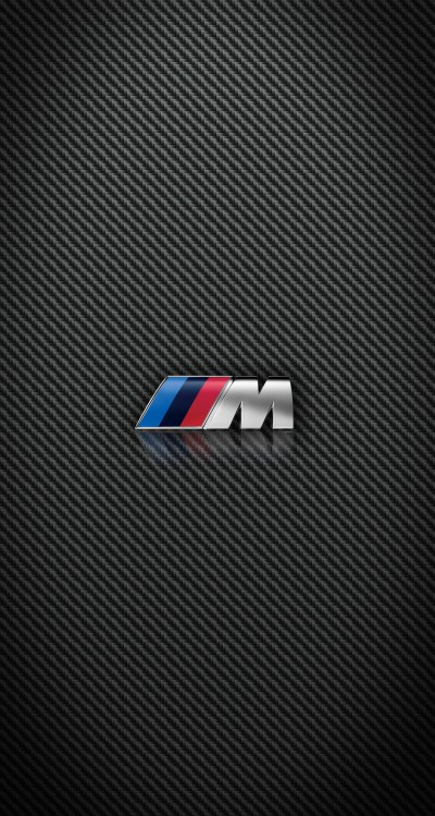 Carbon Fiber BMW and M Power iPhone wallpapers for iPhone 6 Plus parallax effect — Ken Loh