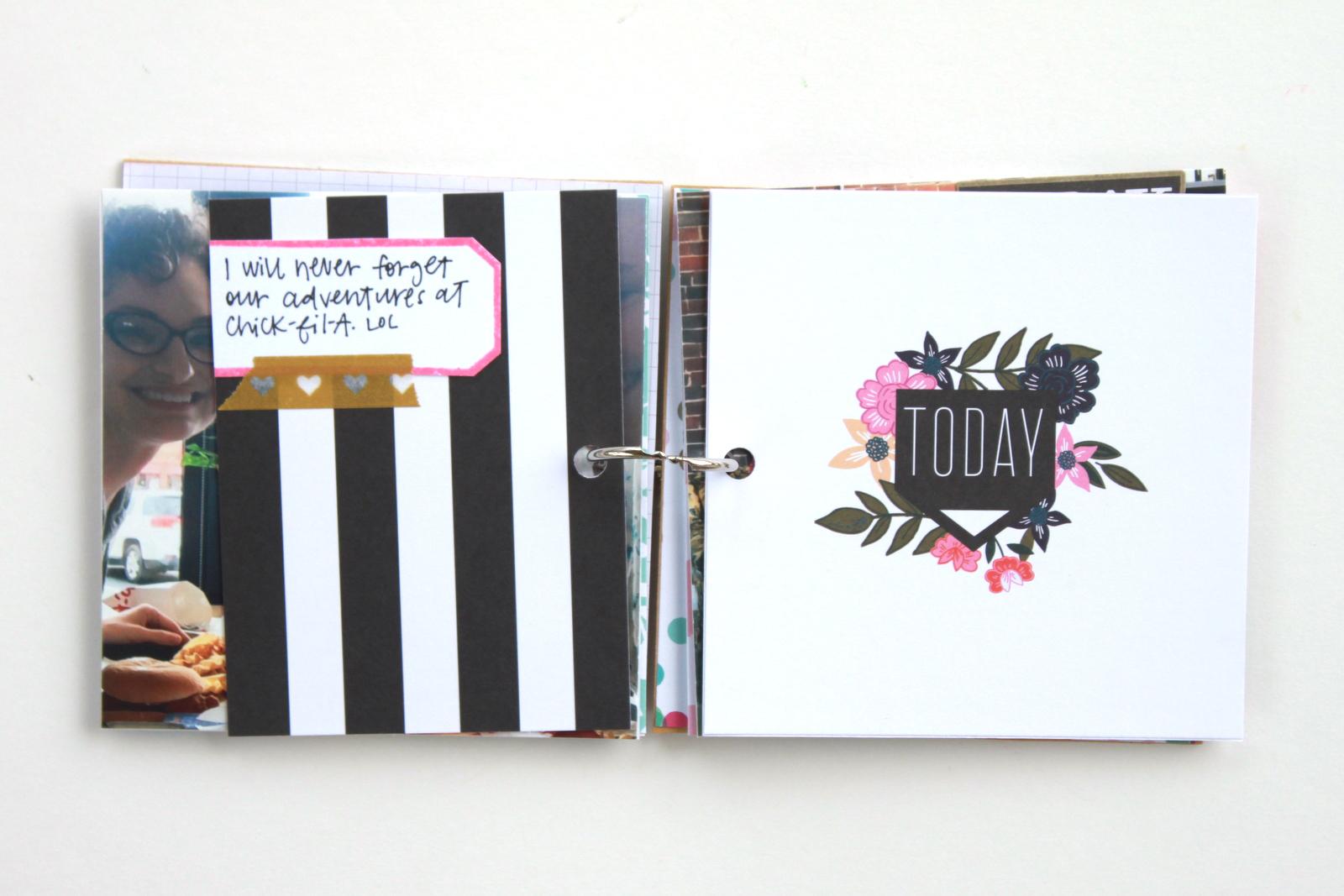 graduation gift minibook using POCKET PAGES™ cards \u2014 me  my BIG ideas