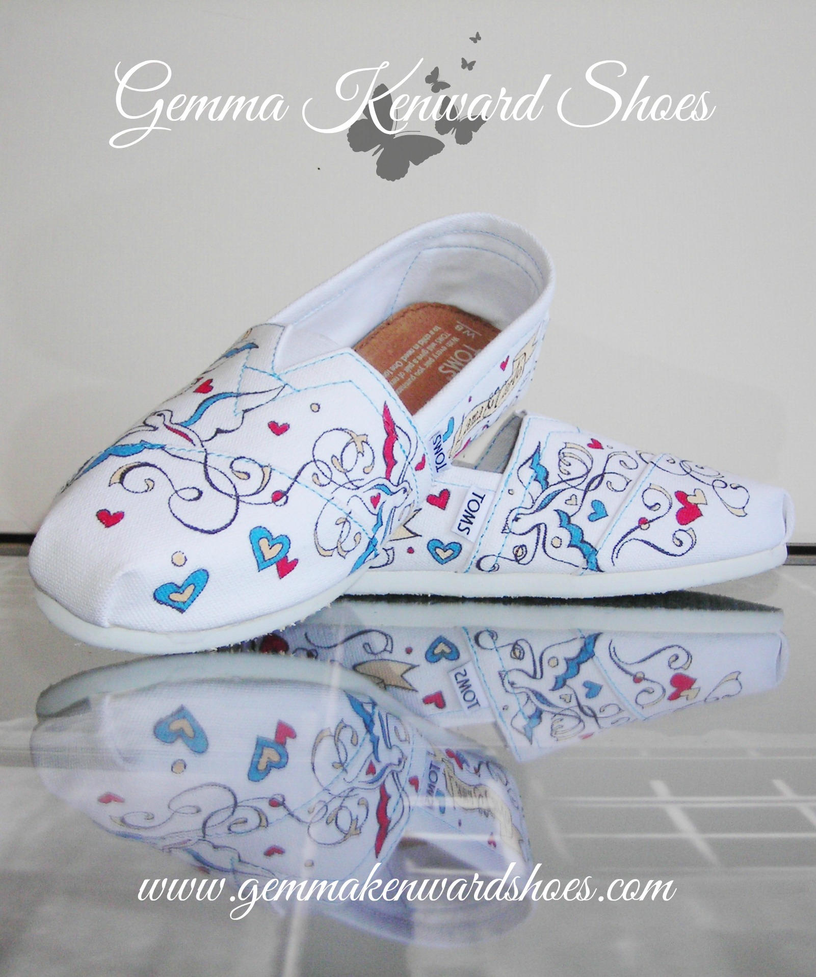 comfy flat hand painted wedding shoes toms wedding shoes hand painted wedding flat shoes toms JPG
