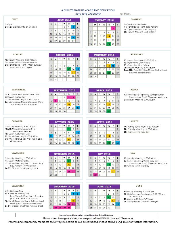Backup 20150901 Full-Year Calendar \u2014 A Child\u0027s Nature