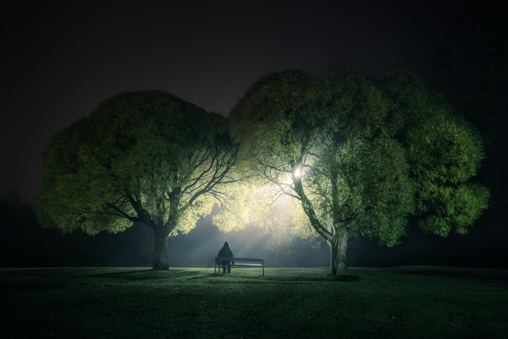 Central Park Iphone 6 Wallpaper Night At The Park Mikko Lagerstedt