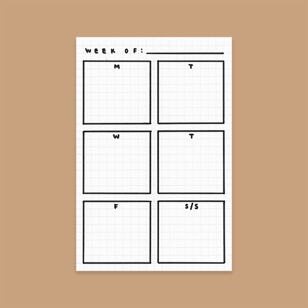 3 Simple Bullet Journal Templates Evermore Paper Co