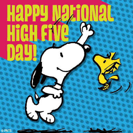 What is NH5D? \u2014 National High Five Day
